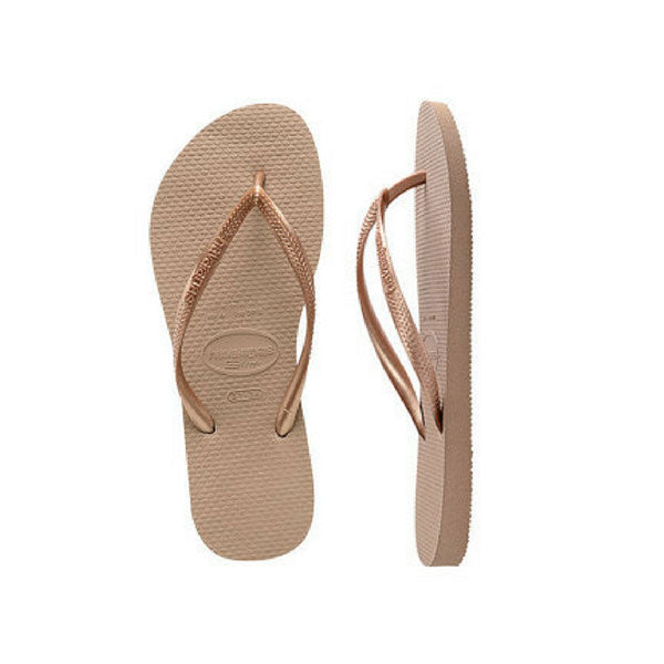 Havaianas Slim Metallic - Rose Gold - Barefoot Blvd