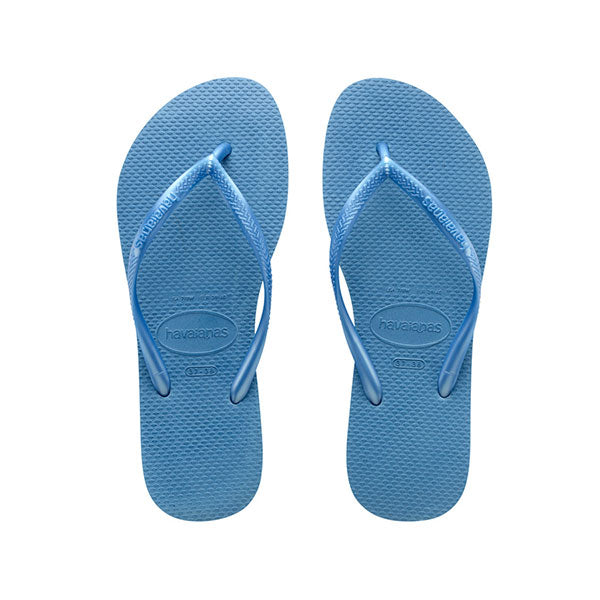 Havaianas Slim Metallic - Steel Blue - Barefoot Blvd