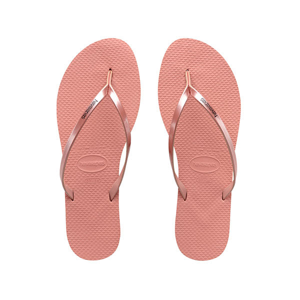 Havaianas You Metallic - Rose Nude - Barefoot Blvd