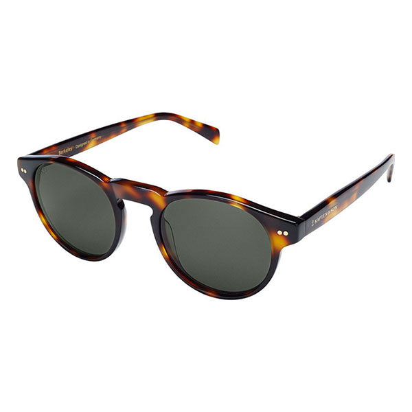 Kapten & Son Berkley Sunglasses - Gloss Light Tort Green - Barefoot Blvd