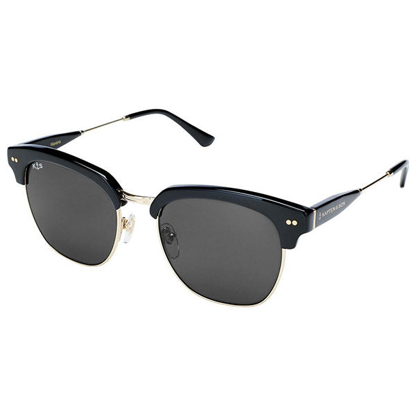 Kapten & Son Havana Sunglasses - Black - Barefoot Blvd