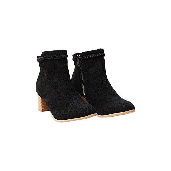 Eb & Ive Lavaux Boot - Onyx - Barefoot Blvd