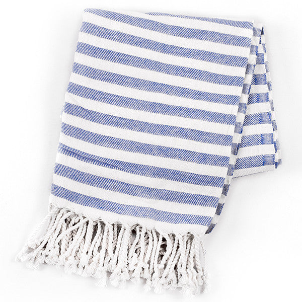 Feliz & Co Vintage Wategos Towel - Light Blue