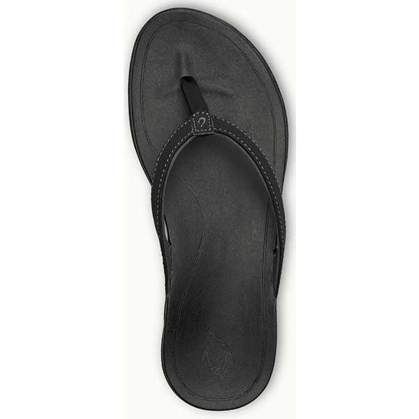 Olukai Ho'opio - Black Dark Shadow Womens - Barefoot Blvd
