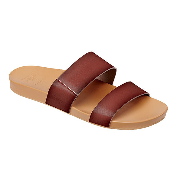 Reef Cushion Bounce Vista - Rust Womens - Barefoot Blvd