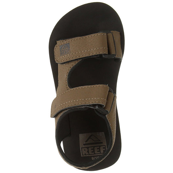 Reef Grom Stomper - Black/Brown (BKB) - Barefoot Blvd