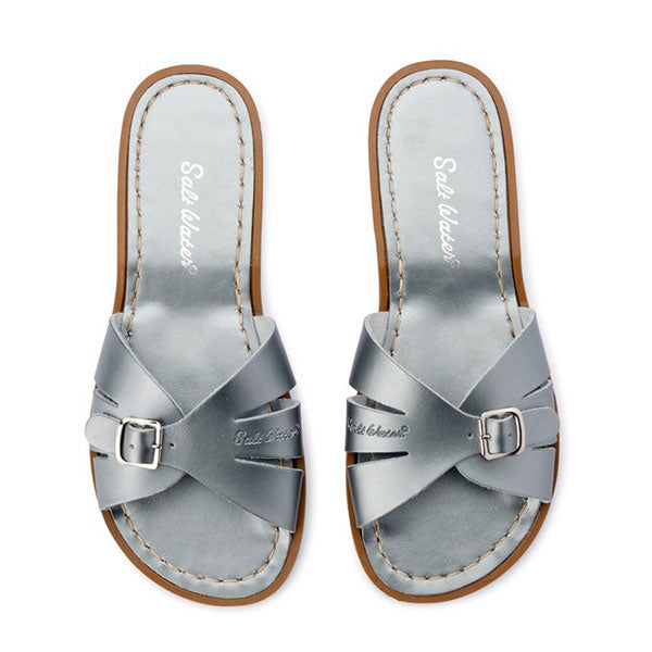 Salt Water Classic Slide - Pewter