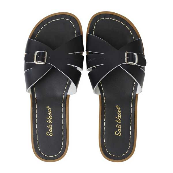 Salt Water Classic Slide - Black