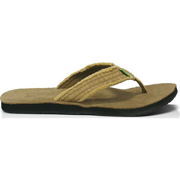 Sanuk Fraid Not - Khaki - Barefoot Blvd