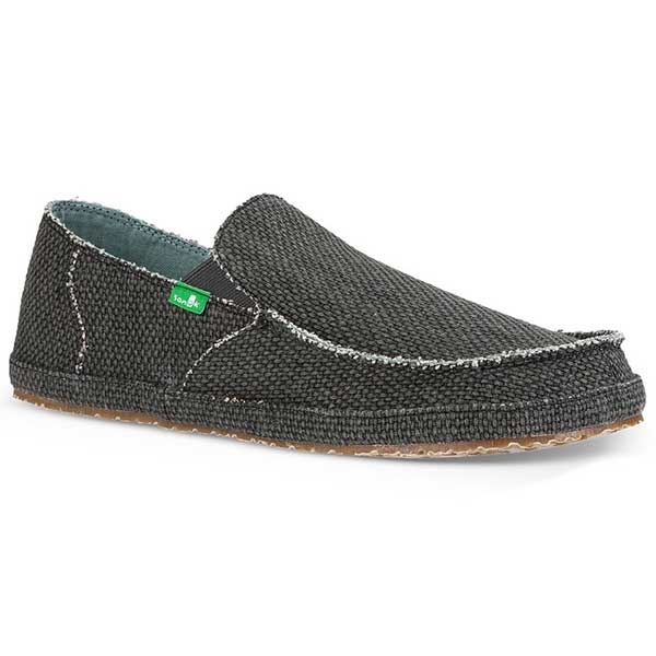 Sanuk Rounder - Pirate Black - Barefoot Blvd