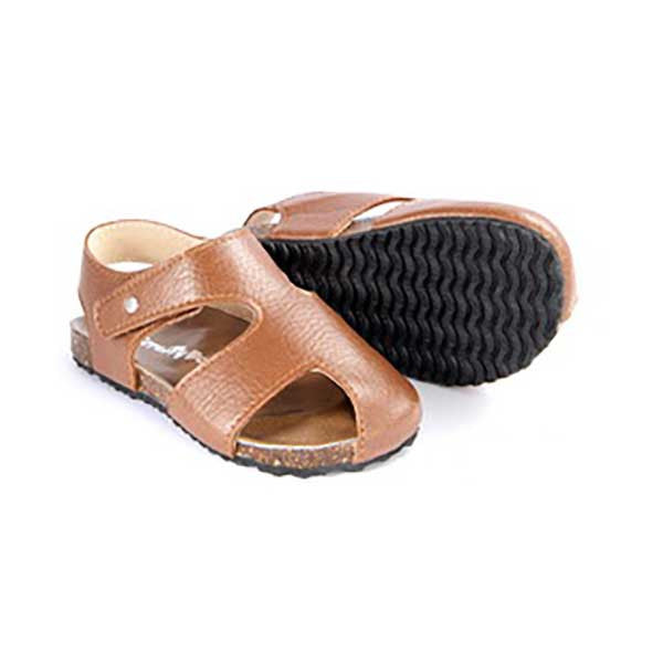 Scruffy Dog Buddy Sandal - Tan