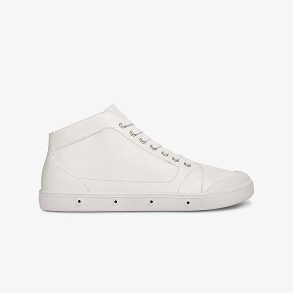 Spring Court M2 Slim Leather - Ladies White - Barefoot Blvd