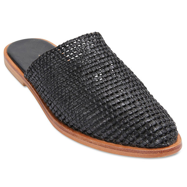 Urge Luxe - Black Raffia Ladies - Barefoot Blvd
