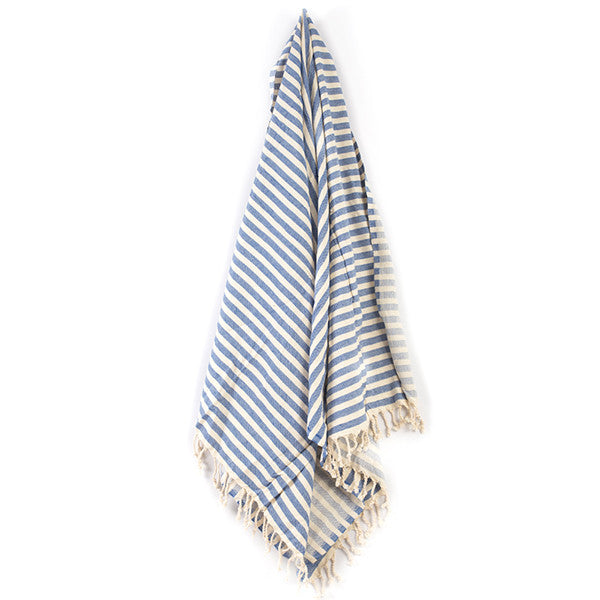 Feliz & Co Vintage Wategos Towel - Royal Blue - Barefoot Blvd