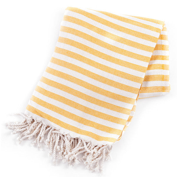 Feliz & Co Vintage Wategos Towel - Yellow - Barefoot Blvd