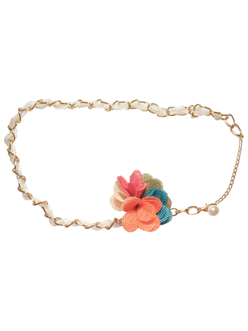 Toddler Chain Belt with Flower - Too Cute for You Baby and Toddler Boutique