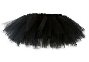 Black Tutu Skirt 0-18 Months - Too Cute for You Baby and Toddler Boutique - 1