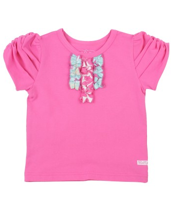 Candy Tri-Ruffle Tee - Too Cute for You Baby and Toddler Boutique - 1