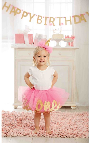 Glitter 1 Tutu Set - Too Cute for You Baby and Toddler Boutique