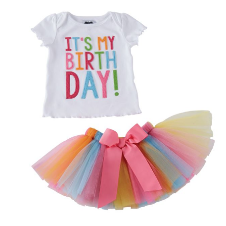 It's My Birthday Tutu Set