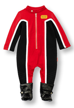 MOTO-X jumpsuit with faux leather 'boots' - Too Cute for You Baby and Toddler Boutique - 1