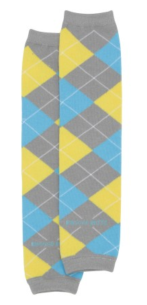 Yellow 'Awesome Argyle' LegWarmers - Too Cute for You Baby and Toddler Boutique - 1