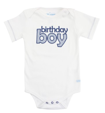 Blue Seersucker Birthday Boy Bodysuit - Too Cute for You Baby and Toddler Boutique