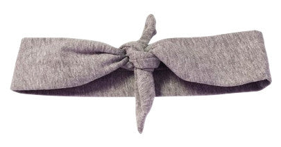 Gray Knotted Headband - Too Cute for You Baby and Toddler Boutique