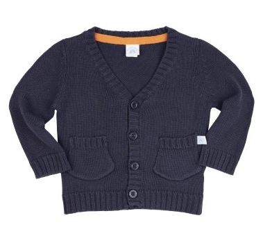 Gray Grandpa Cardigan - Too Cute for You Baby and Toddler Boutique - 1