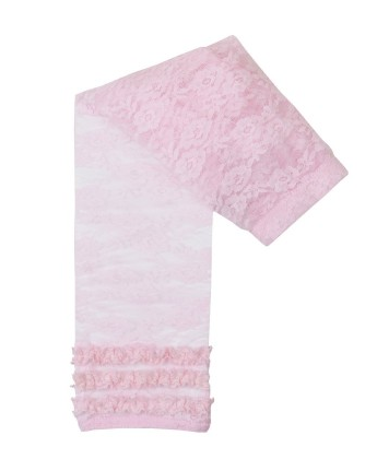 Pink Lace Capri Tights - Too Cute for You Baby and Toddler Boutique - 1