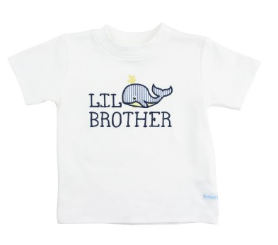 Whale Lil Bro Tee - Too Cute for You Baby and Toddler Boutique - 1