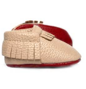 LOUBOUTINY- BABY MOCCASINS - Too Cute for You Baby and Toddler Boutique - 1