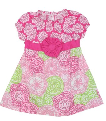 Summer Fabulous Mix-Print Dress - Too Cute for You Baby and Toddler Boutique - 1
