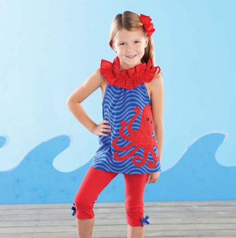 Octopus Tunic And Legging Set - Too Cute for You Baby and Toddler Boutique