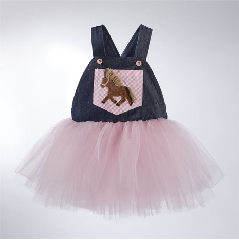 Overall Tutu Dress - Too Cute for You Baby and Toddler Boutique - 1