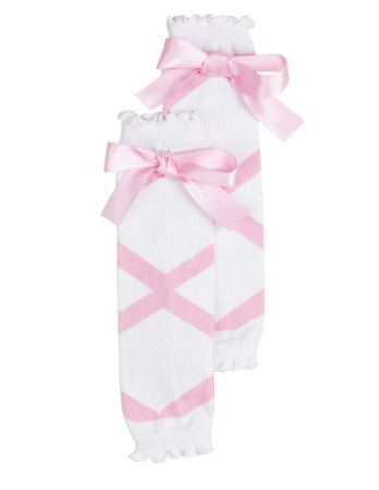 Pink Ballet Bow LegWarmers© - Too Cute for You Baby and Toddler Boutique - 1