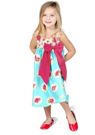 Charming Puffy Dress - Too Cute for You Baby and Toddler Boutique - 1