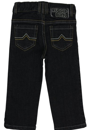 Rocker Black Wash Jeans - Too Cute for You Baby and Toddler Boutique - 1