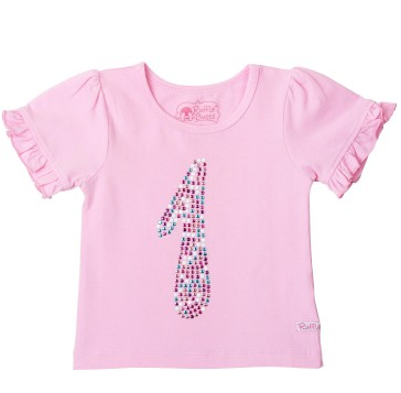 Pink Birthday Ruffled Tee - Too Cute for You Baby and Toddler Boutique - 1