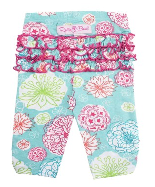 Tropical Garden Everyday Capri Leggings - Too Cute for You Baby and Toddler Boutique