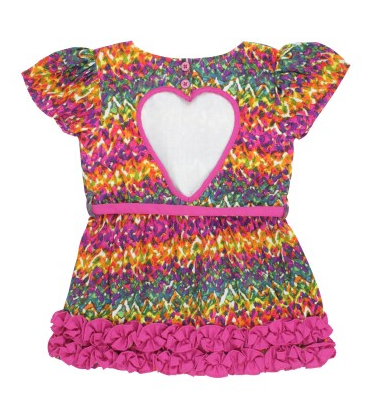 Watercolor Ikat Sweetheart Dress - Too Cute for You Baby and Toddler Boutique - 1