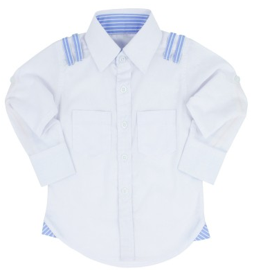 Casual White Button Down - Too Cute for You Baby and Toddler Boutique - 1