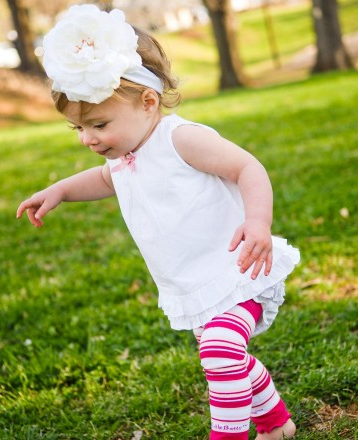 White Aubrey Headband - Too Cute for You Baby and Toddler Boutique - 2
