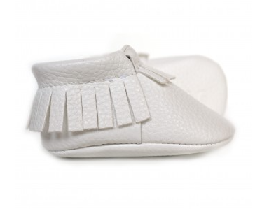 Pearly White- Baby Moccs - Too Cute for You Baby and Toddler Boutique
