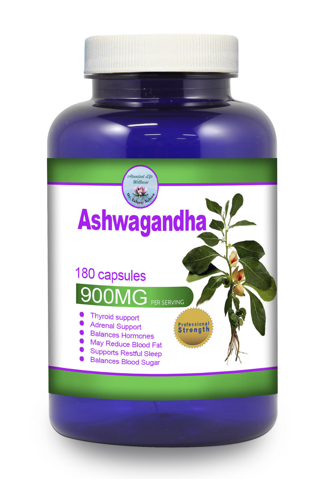 Ashwagandha - 50% Off - While Supplies Last - We are doing a label update