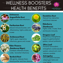 Wellness Booster - All Natural Herbal Immune                       System Strengthener
