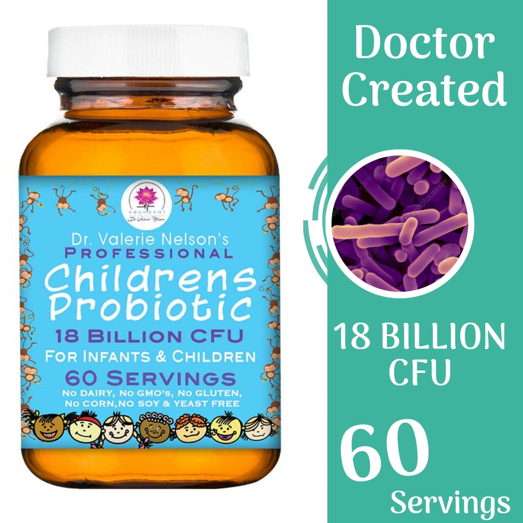 Children's Probiotic - 18 Billion CFU - 60 Servings