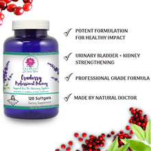 Cranberry - ***Buy 1, get 1 FREE!*** - Professional Strength - 12,600 mg of Fresh Cranberries - 120 Softgels
