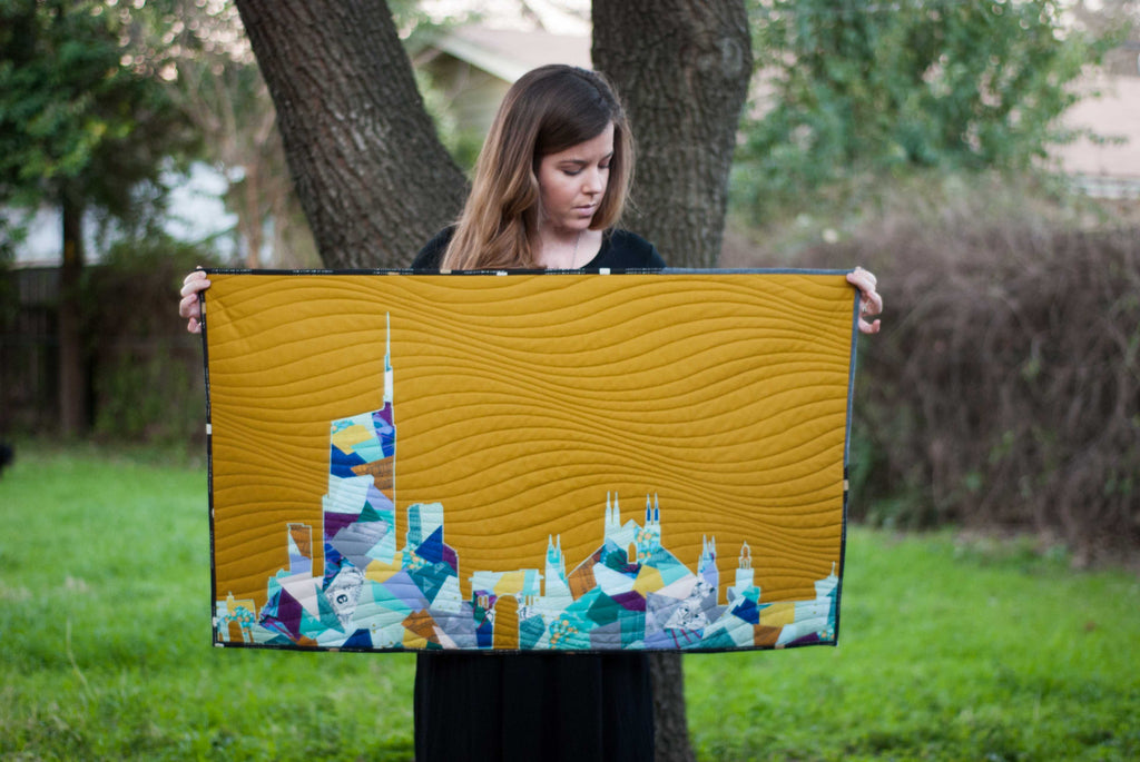 New scrappy applique skyline collection new city patterns