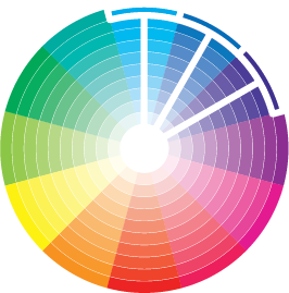Analogous Color Wheel via shannon-brinkley.com